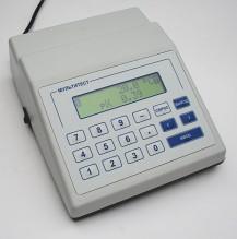 рН-метр-иономер ИПЛ-101 одноканальный.  Комплект: иономер, датчик температуры, кабель для подключения к компьютеру.